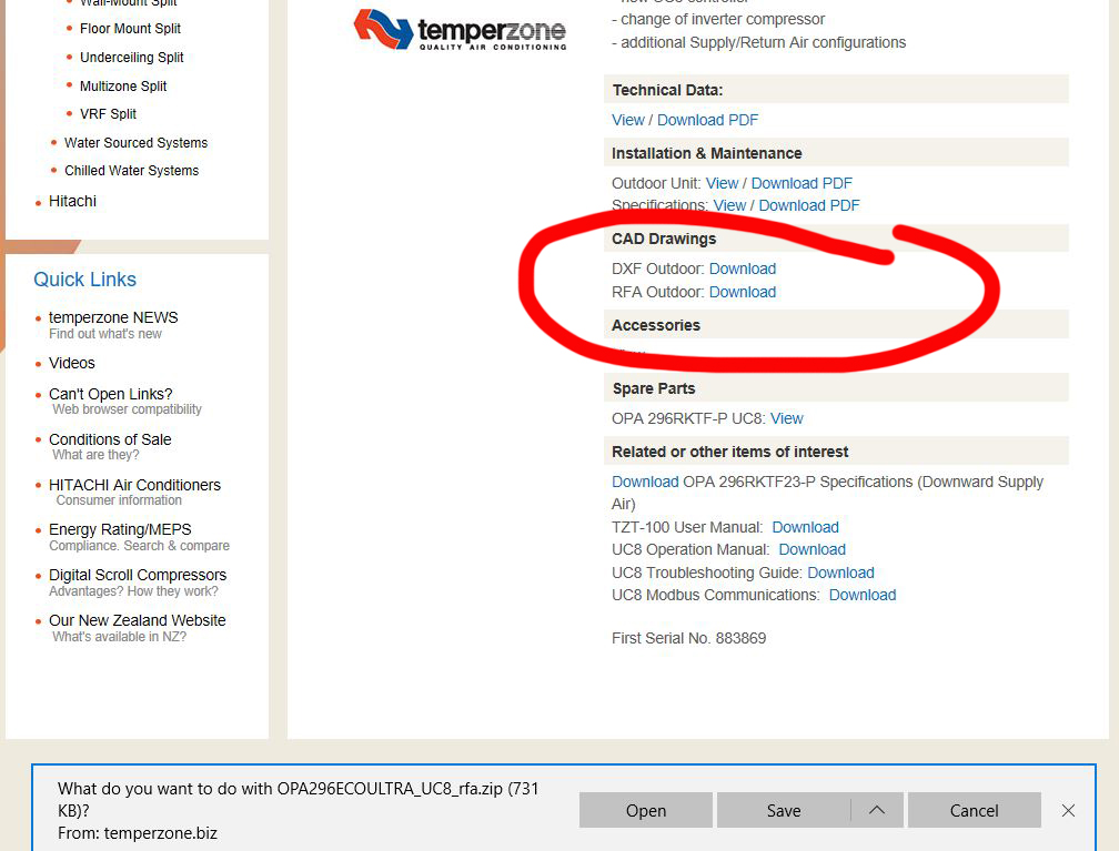 Temperzone News - Download Revit Files in 3 Easy Steps
